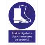 Port obligatoire chaussures de sécurité