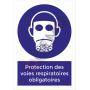 Protection des voies respiratoires obligatoires