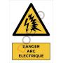 Danger arc electrique