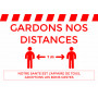 GARDONS NOS DISTANCE - A4 - VINYLE SOL ANTIDERAPANT